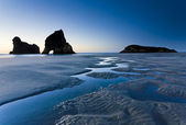 Wharariki Beach — Stock Photo