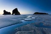 Wharariki Beach — Stock Photo