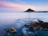 Sunset at Marazion — Stock Photo