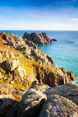 Treen Cliffs — Stock Photo