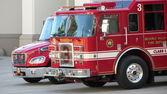 Fire Pump Car — Stock Photo
