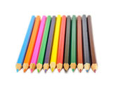 Coloured pencils — 图库照片