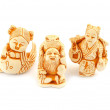 Japanese miniature figures netsuke — Stock Photo #9500097