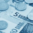 Stock Photo: Europecurrency (blue toned)