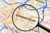 Destination Dusseldorf — Stock Photo