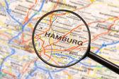 Destination Hamburg — Stock Photo