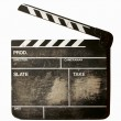 Movie clapper — Stok Fotoğraf #8359763