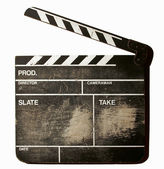 Movie clapper — Stock Photo