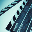Movie clapper — Stock Photo #8585411