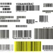 Bunch of bar codes — Stock Photo #8487434