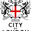 London, coat of arms — Stock Photo #8487500