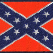 Confederate flag states of America - Stock Photo