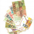 Republic of the Slovenian tolar banknotes back - Stock Photo
