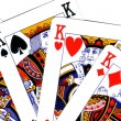 Playing cards; poker of king — Stock Photo #8488125