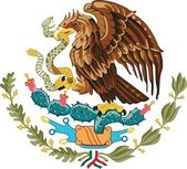 Mexico, coat of arms — Stock Photo