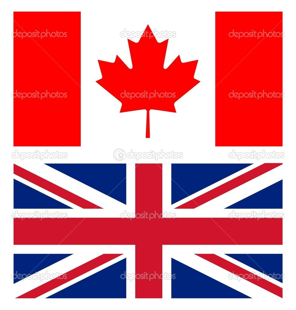 union jack and canadian flag stock photo multipla11 8487763. Black Bedroom Furniture Sets. Home Design Ideas
