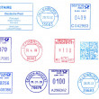 Bunch of Germpostmarks — Stock Photo #8744477