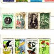 Stock Photo: North africa, arab nation, old stamps