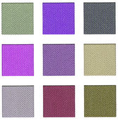 Colour sampler with violet hues — Stock Photo