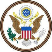 Emblem of USA — Stock Photo