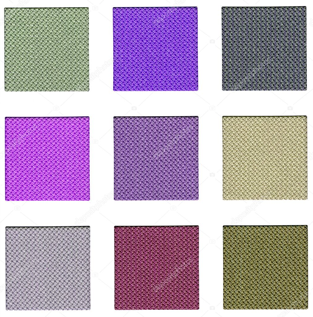 Colour sampler with violet hues — Stock Photo #8744413