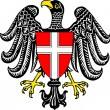 Coat of arms of Vienna — Stock Photo