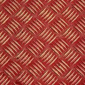 Red metal tile — Stock Photo