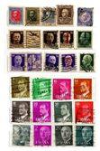 Altspanisch briefmarken — Stockfoto