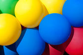 Bright colored balloons — Stock Photo