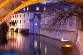 Watermill under the Charles Bridge — Stock Photo