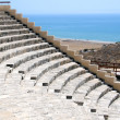 The Greco-Roman amphitheater Kourion — Stock Photo