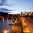 Royalty-Free Stock Photo: Charles Bridge. Prague. Czech Republic.