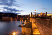Charles Bridge. Prague. Czech Republic. — Stock Photo