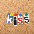 Stock Photo: KISS principle