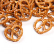 Salted Pretzel Snacks — Stock Photo