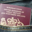 Stock Photo: United Kingdom Passport
