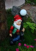 Sculpture in the Garden Gnome — Stock Photo