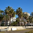 Malaguetta beach with buildings — Lizenzfreies Foto