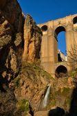 Eski bir köprü, ronda — Stok fotoğraf