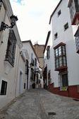 Ronda alley, old buildings — Stockfoto