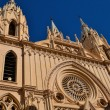 Church in downtown malaga — Stock Photo #8750093