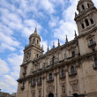 Spanish Cathedral in City of Jaen — Stock Photo
