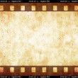 Stock Photo: Film strip space