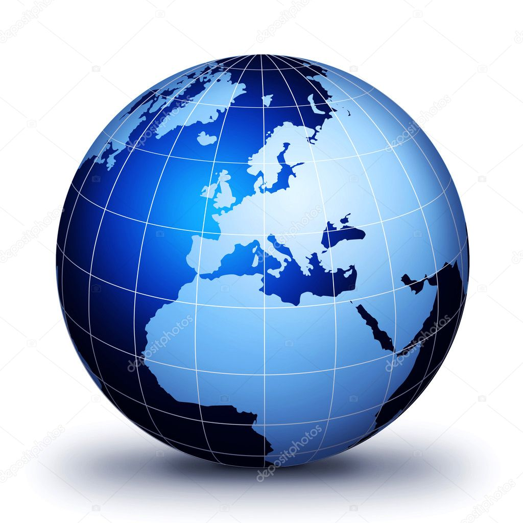 Only World Globe! — Stock Photo © grafikerayx #8592553