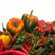 Bell Pepper and Chili - Stock Photo