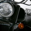 Detail of motorcycle — Stock Photo