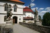 Tjeckiska slott valdstein — Stockfoto