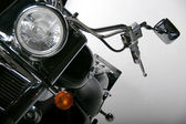Detail of motorcycle — Fotografia Stock