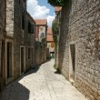 Old streets of Stary Grad — Stock Photo