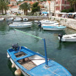 Harbour of Hvar with boats — Stock Photo #8497295
